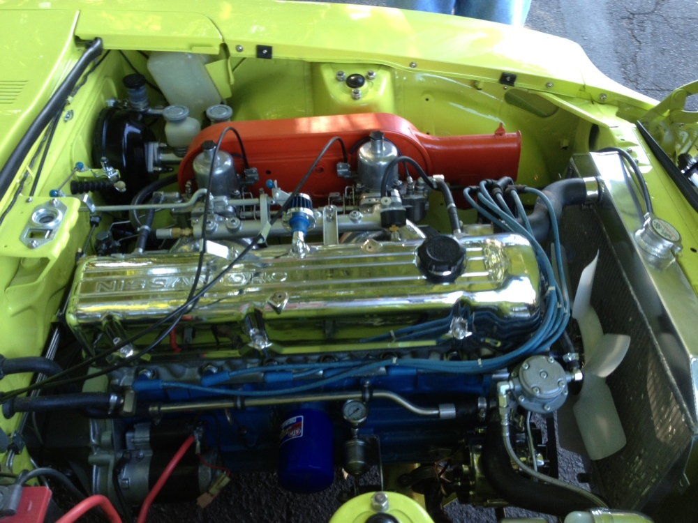 Datsun 240Z engine