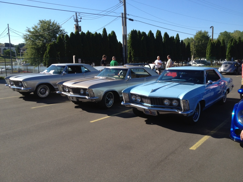 Three Buick Rivieras