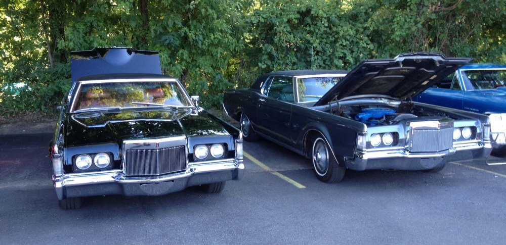 Two Lincoln Mark IIIs