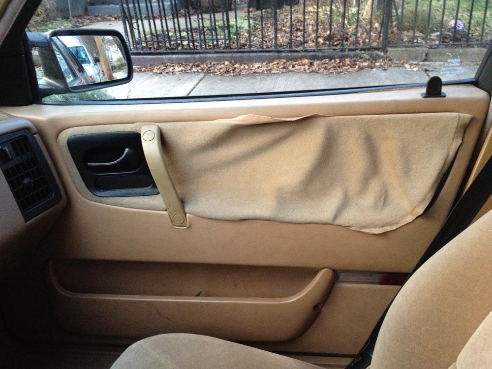 Saab door panel