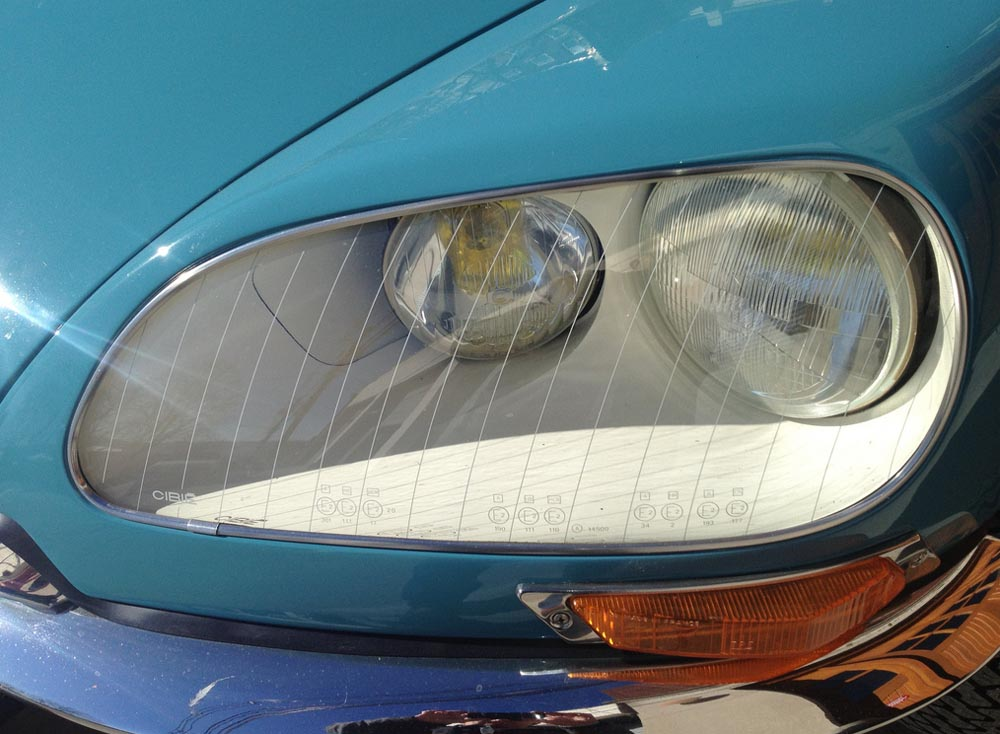 Citroen DS headlamp